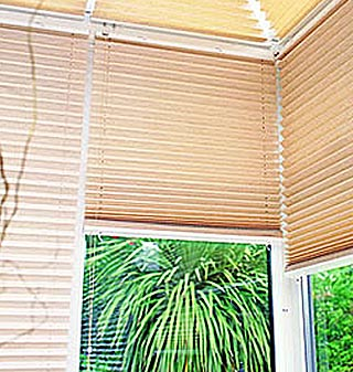 Supply and fit pleated blinds