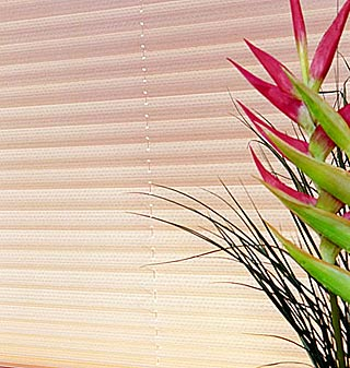 Suppliers and fitters of pleated blinds