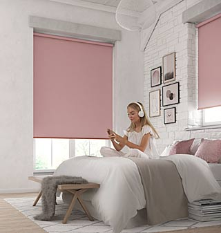 Supply and fit roller blinds