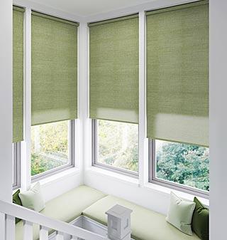 Range of roller blinds