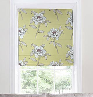 Supply and fit roman blinds