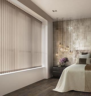 Supply and fit vertical blinds