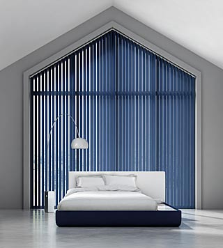 Suppliers and fitters of vertical blinds